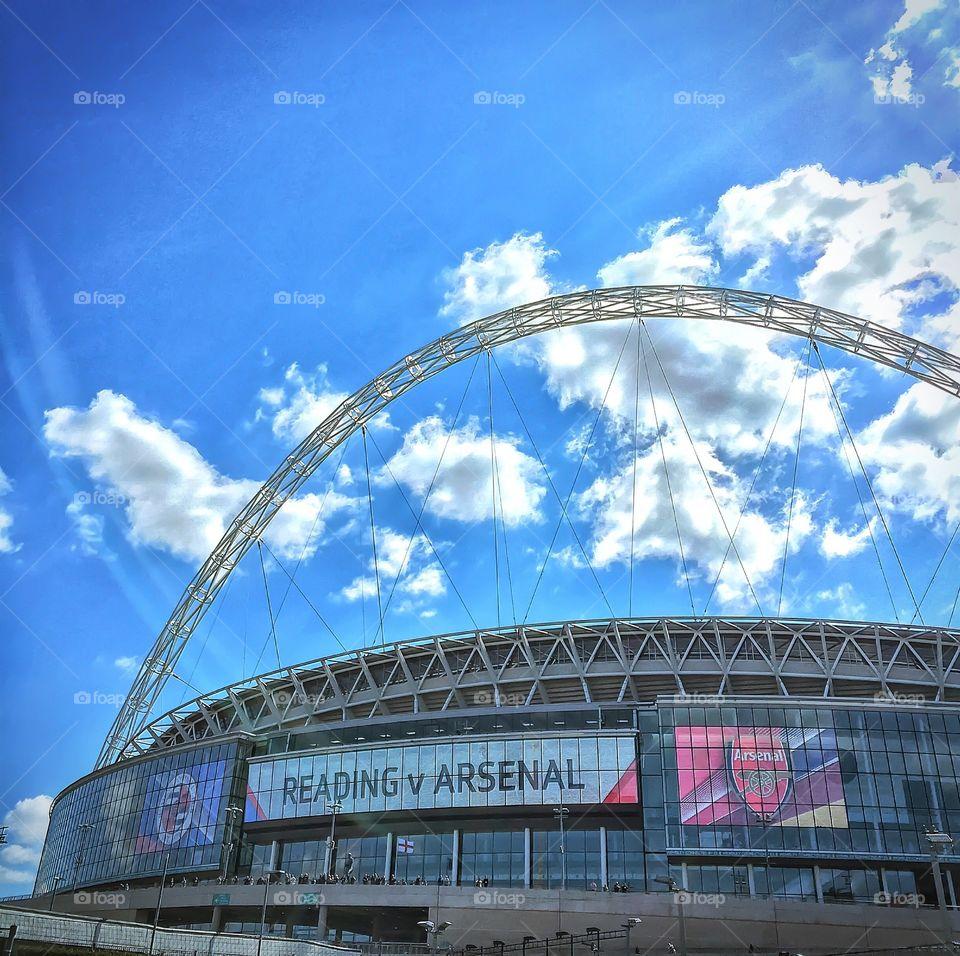 Wembley FA CUP SEMI FINAL. This is the semi final of Wembley reading v arsenal