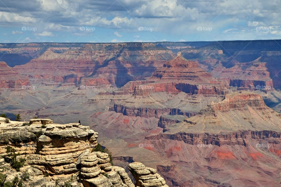 View of Grand Canyon in Arizona