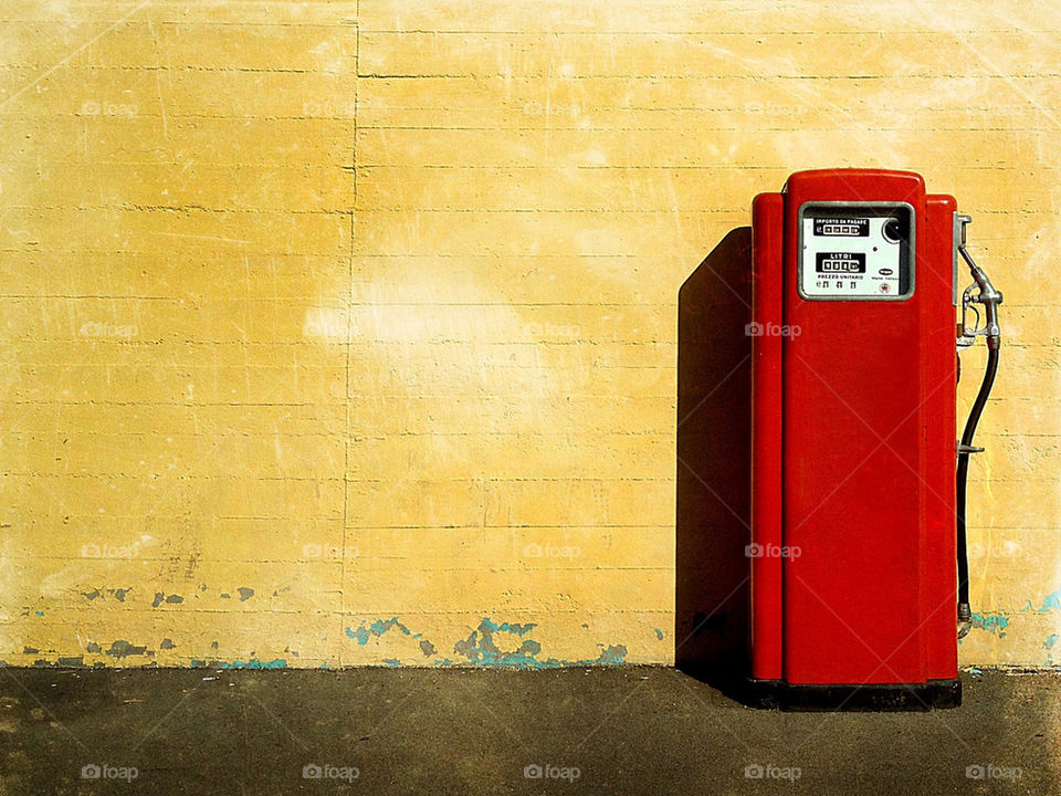 yellow red brown gasoline by menk