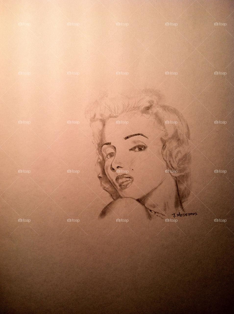 art portrait drawing sketch by jasonmedeiros