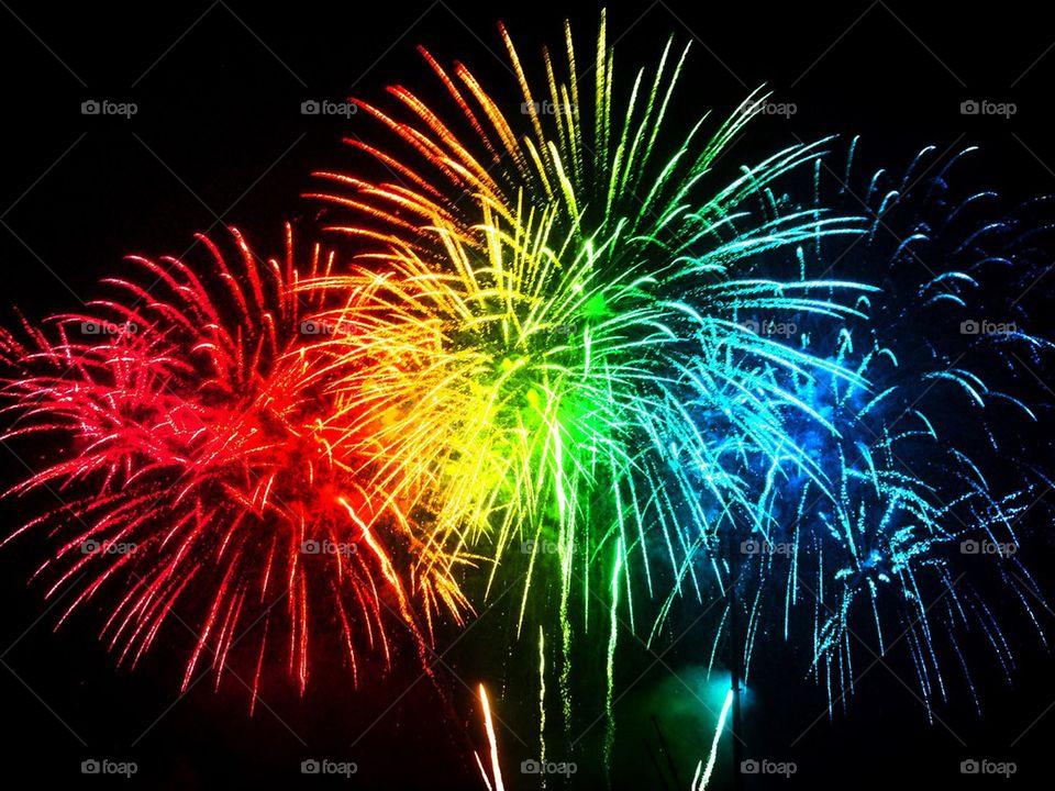 Pyrotechnics. Fireworks