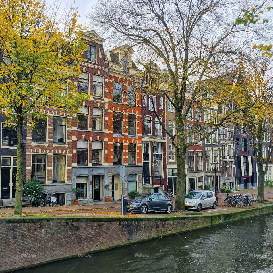 Canal, City, House, Architecture, Building