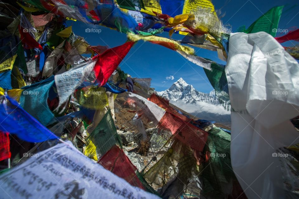 Prayer flag