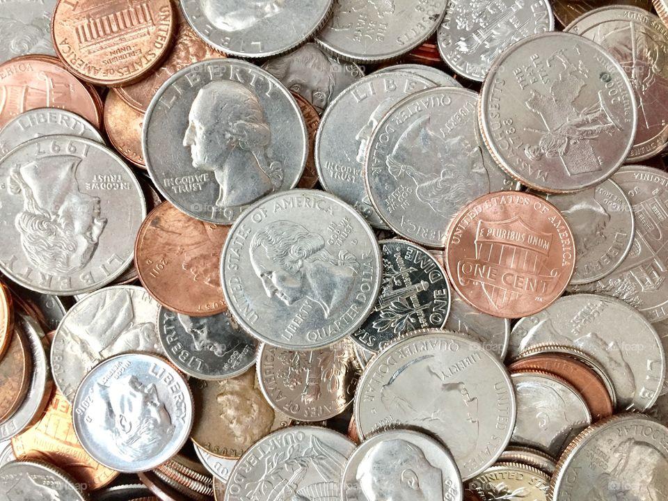 Money. Coins