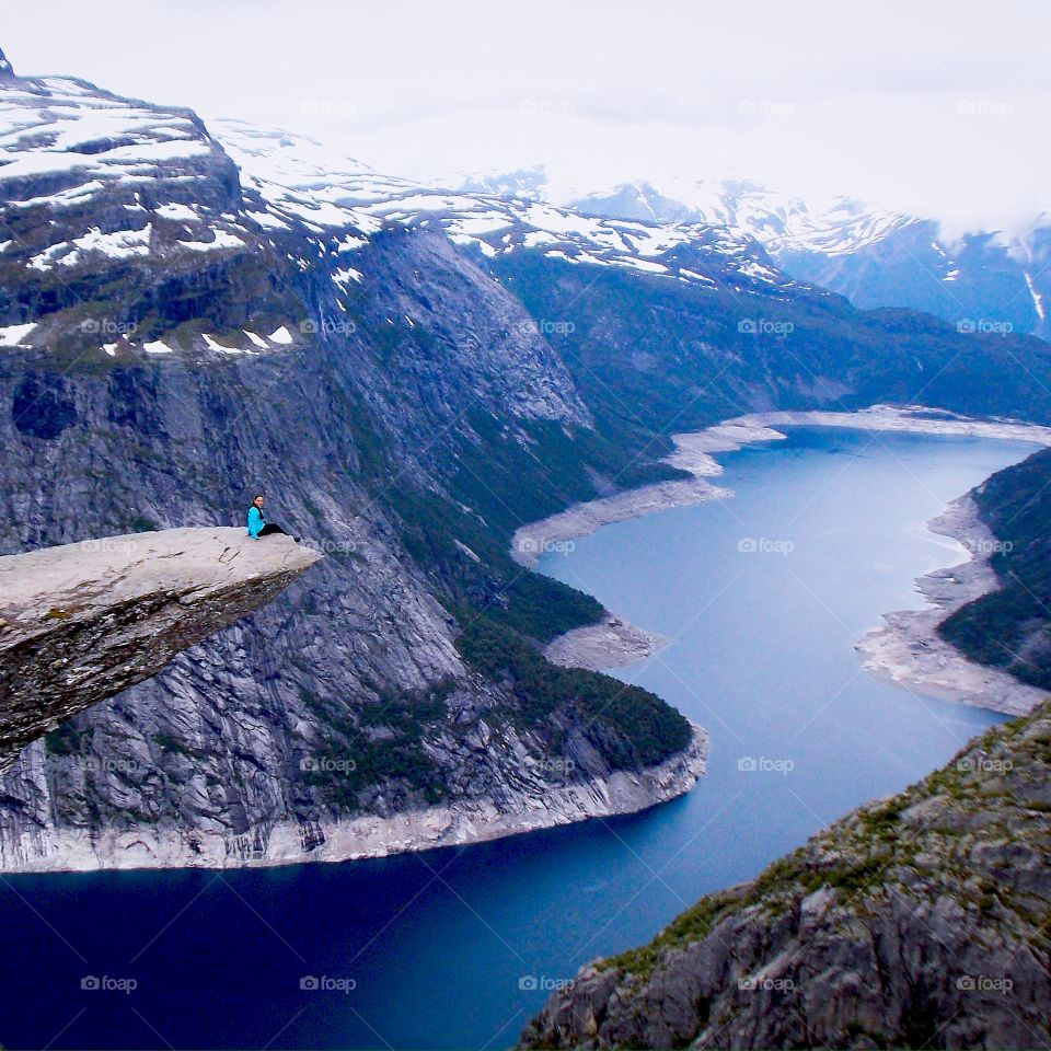Trolltunga. Took 5 hours and 11km but finally we got there!