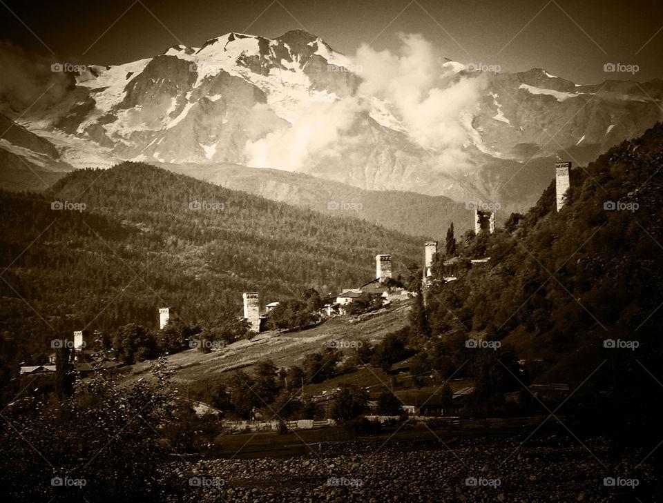 georgia mountain tower historic by Bea