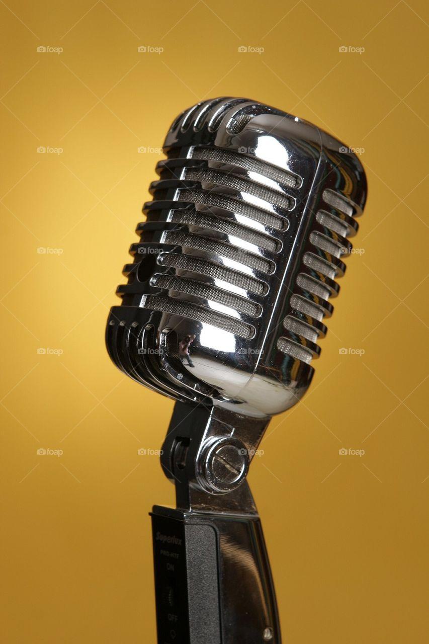 Old style Elvis Presley microphone