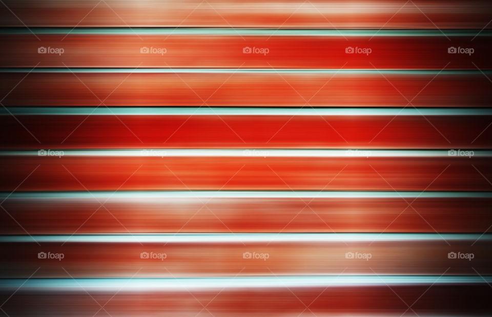 Vivid orange siding abstraction