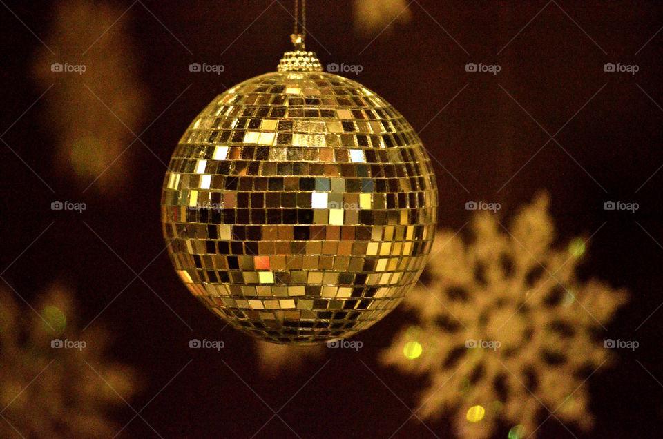 Disco Ball Ornament