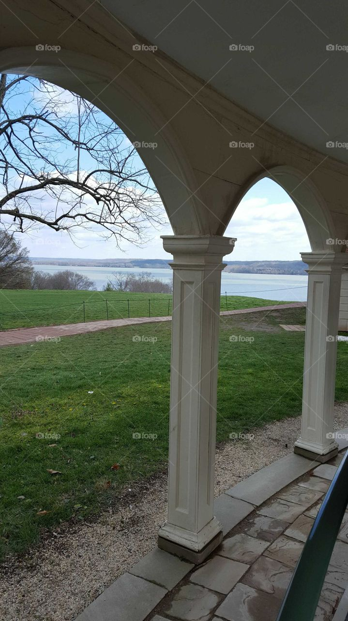 View of the Potomac River at Mt. Vernon