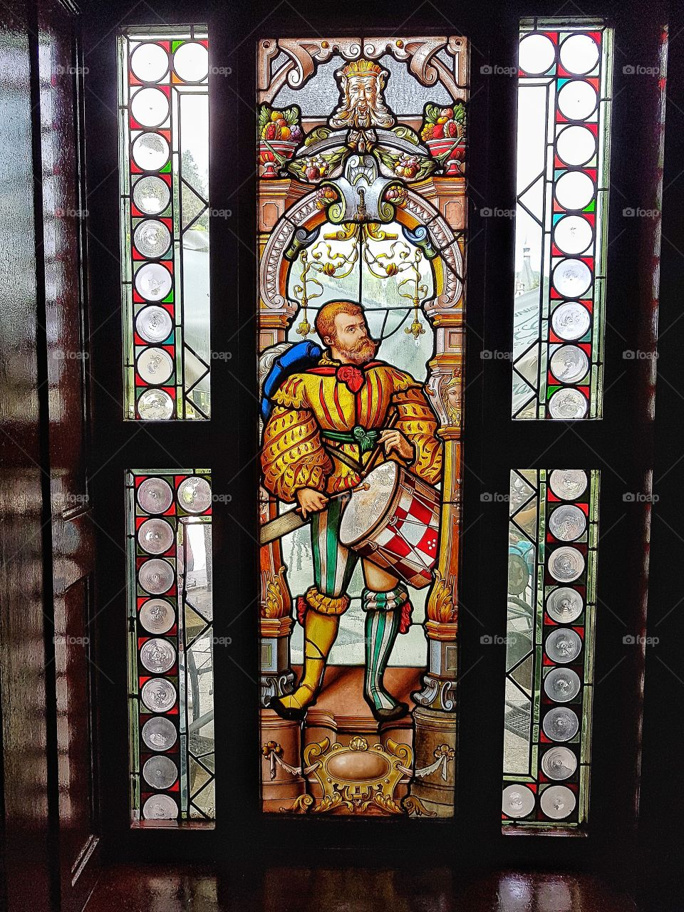 Stained glass in Sinaia