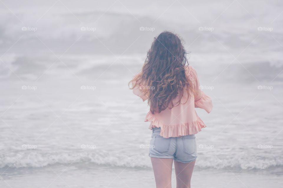 Feeling the ocean breeze