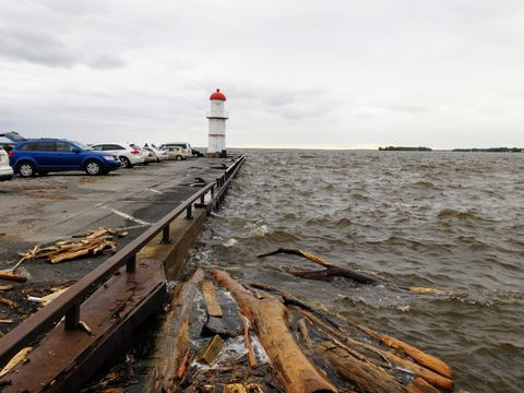 Lachine Lighthouse - Quebec 2017 floods