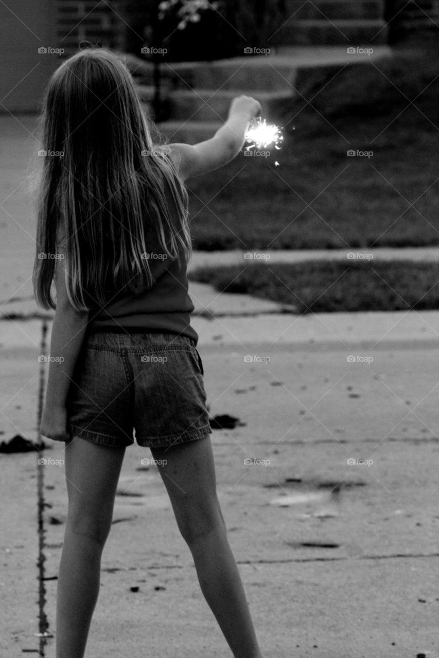 Lone Sparkler