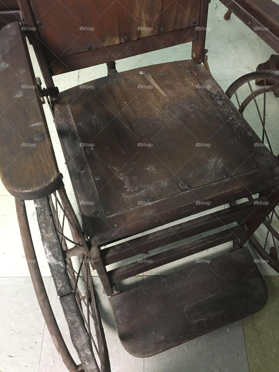 Antique Wheelchair