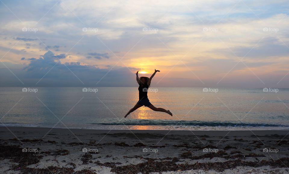 Dancing sunrise