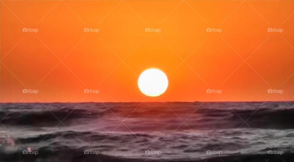 Natural Sunrise Image