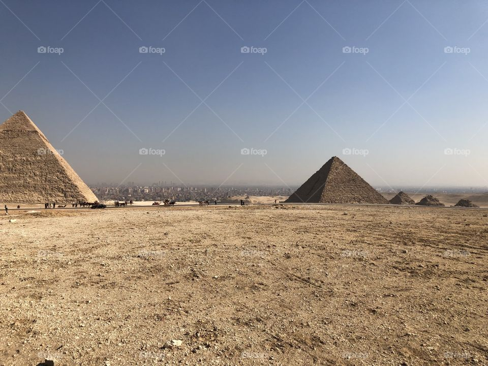 Pyramid, Desert, No Person, Grave, Archaeology