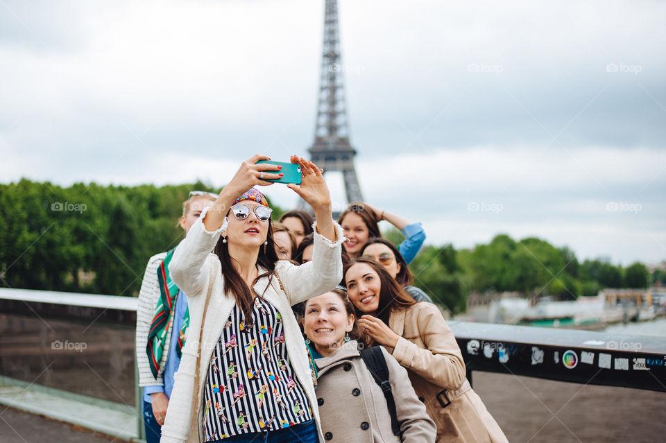 Pros selfie