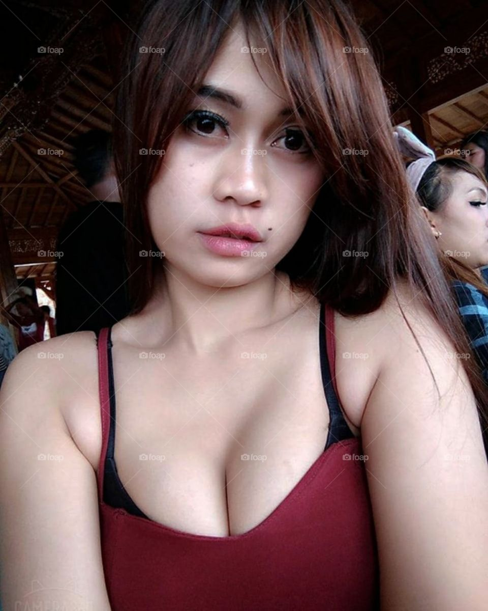 sexy asian woman and perfect body, her face is very exciting sexy red lips want to kiss intimately 7