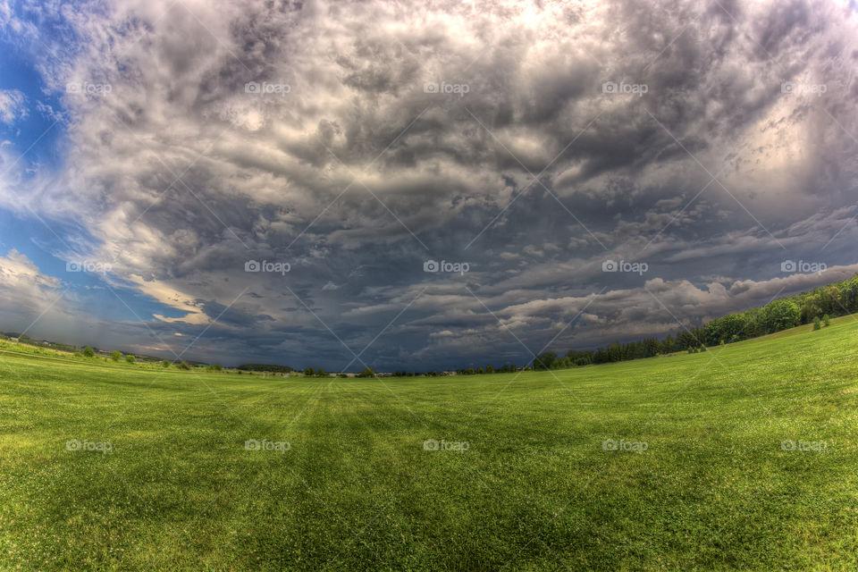 Distant Severe Storm