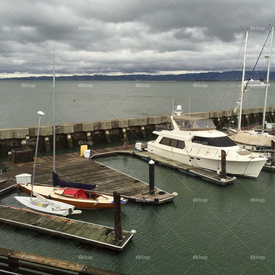 Pier39 marina in San Francisco