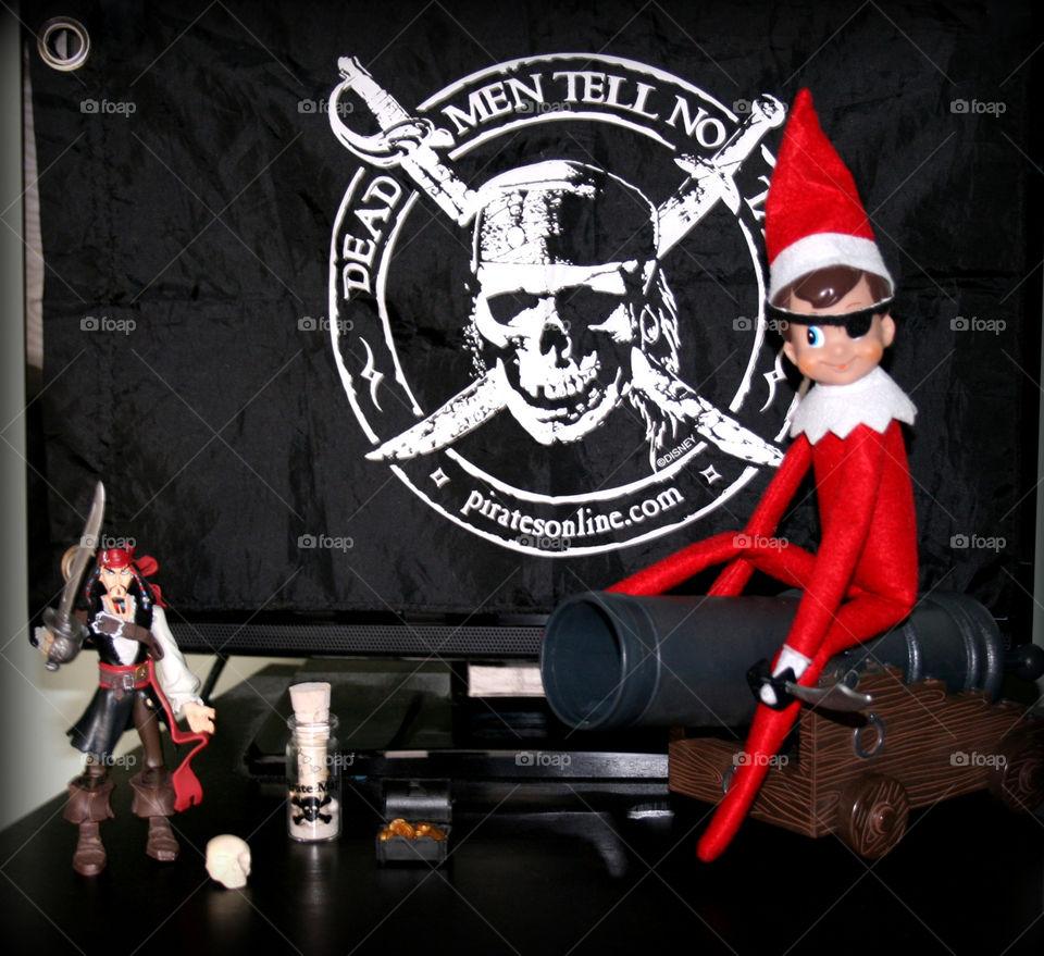 Elf on the Shelf pirate