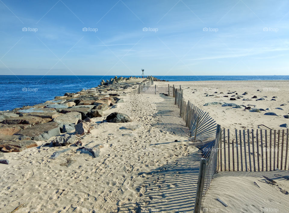 Manasquan inlet at Point Pleasant Beach New Jersey