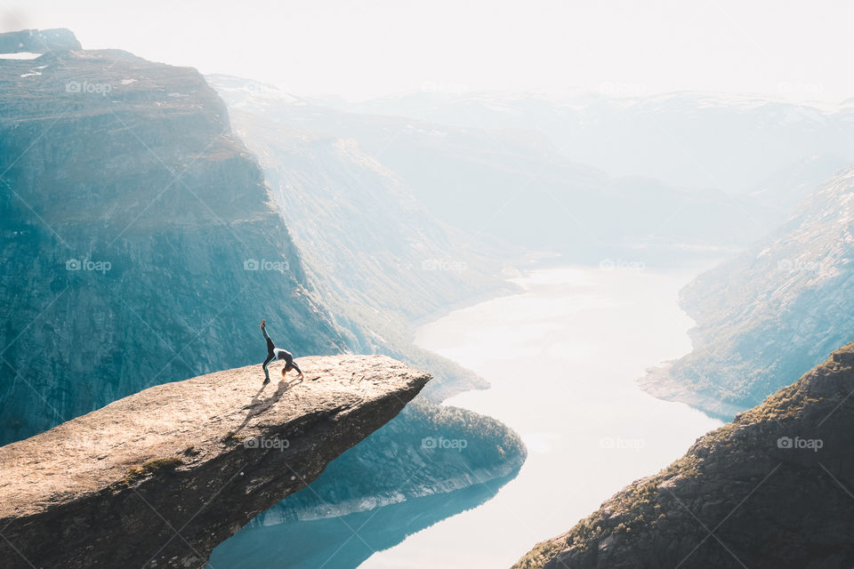 Trolltunga in Norway. A breathtaking hike, with breathtaking views at the end!