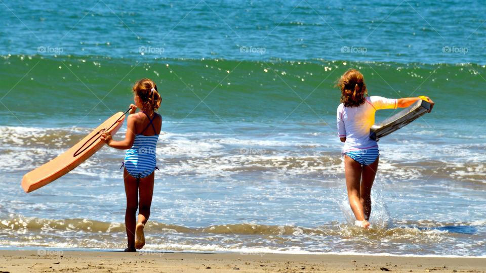 beach ocean summer children by anchor3n1