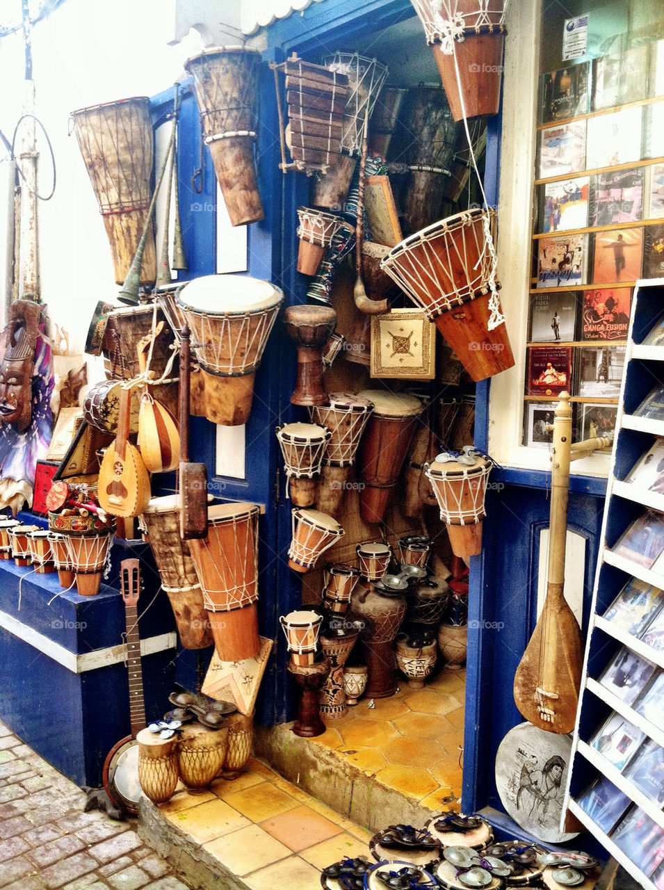 bazaar drums morocco by oaslani