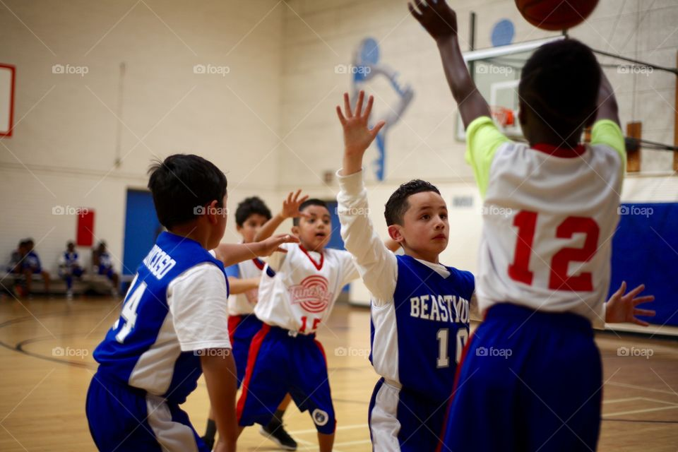 kids 1a basketball