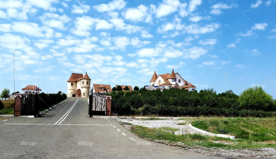 Beautiful big houses