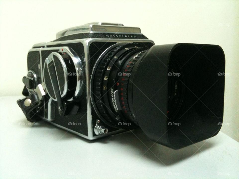vintage blackandwhite camera hasselblad by jidin