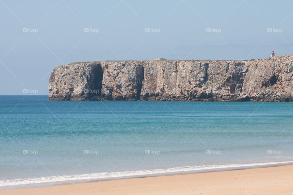 Cliffs on the south west coast of Portugal