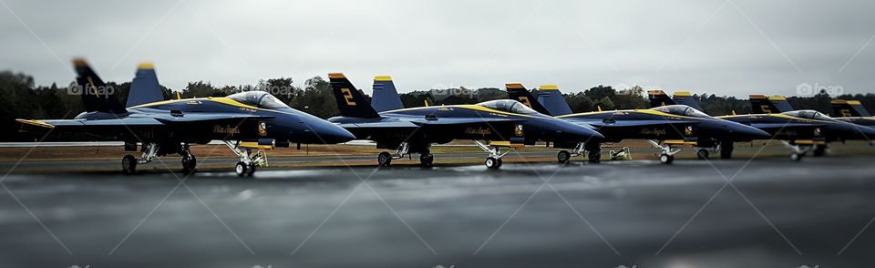 Blue Angels. Great family photo! Thanks to the Blue Angels crew I was able to get this close.