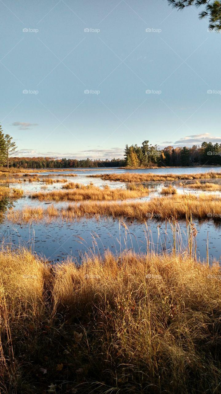 Kathan Lake. Wisconsin