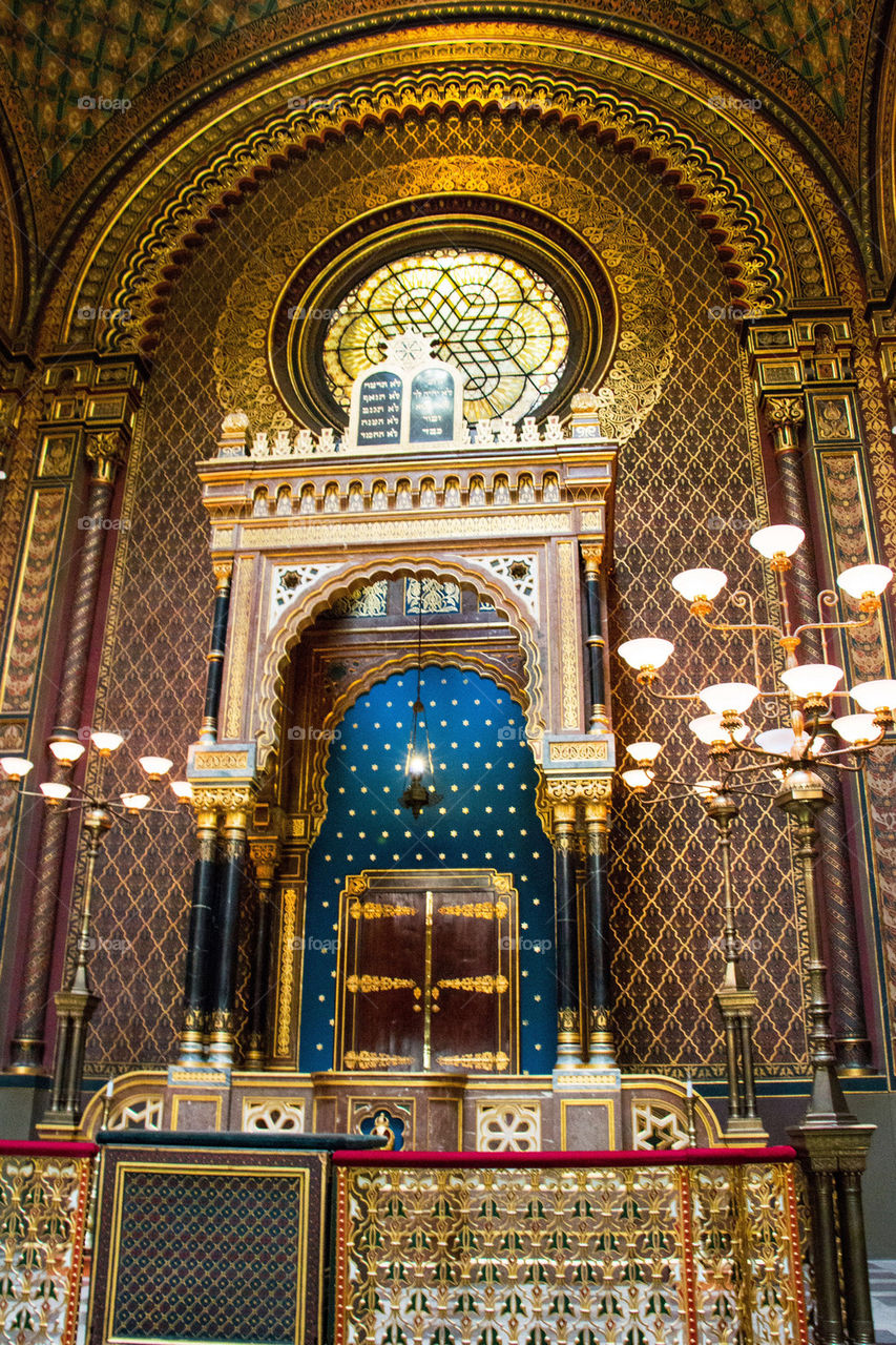 The spanish synagogue of prague