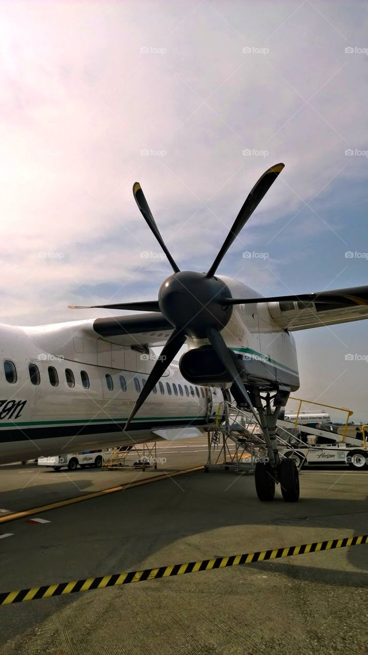 Horizon Air Propeller