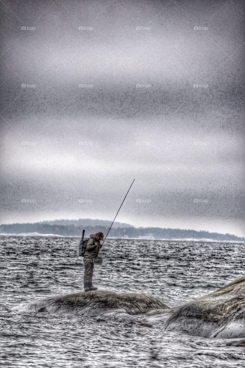 Fisherman | image, ocean, sea, hav