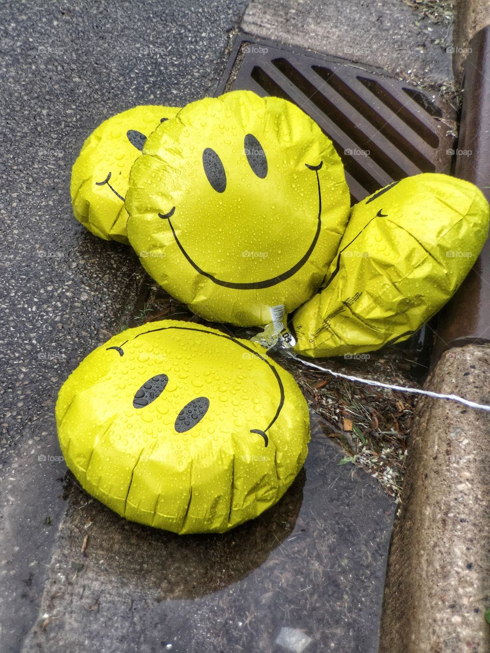 Smiley Faces in a Sad State