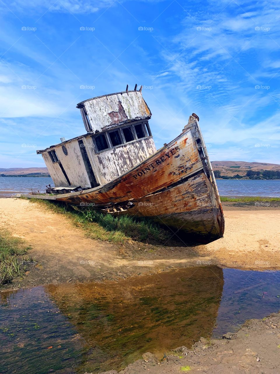 Point Reyes Shipwreck in Inverness, California