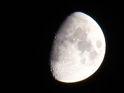 background grey night moon by larsrhk