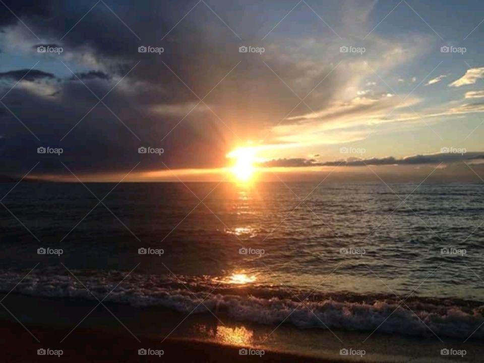 Sunset ~wild nature