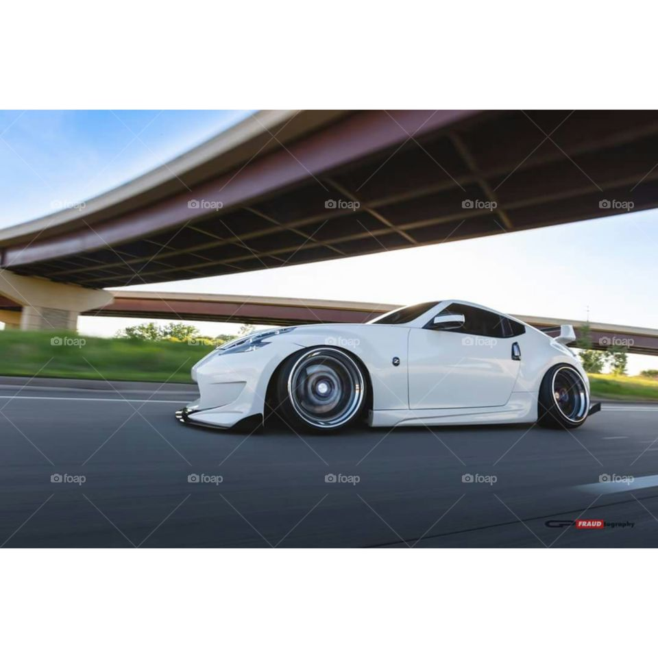 370z roller. driving low