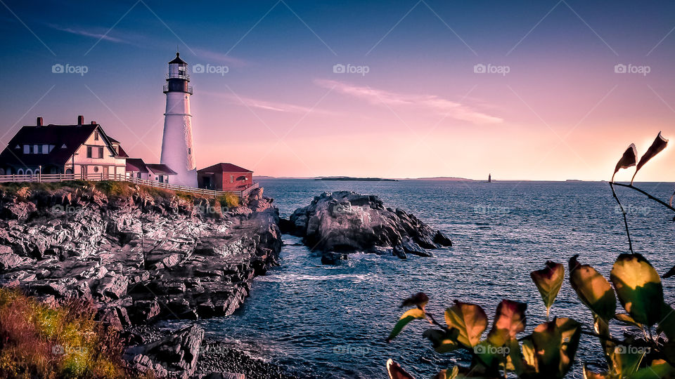 Early Morning in Portland Maine