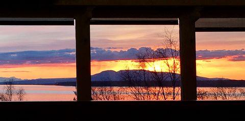 Alaska sunset 🌅