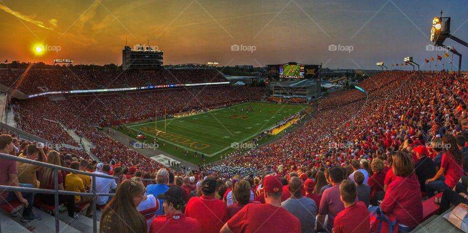 Jack Trice Stadium - Iowa State University 🏈📸