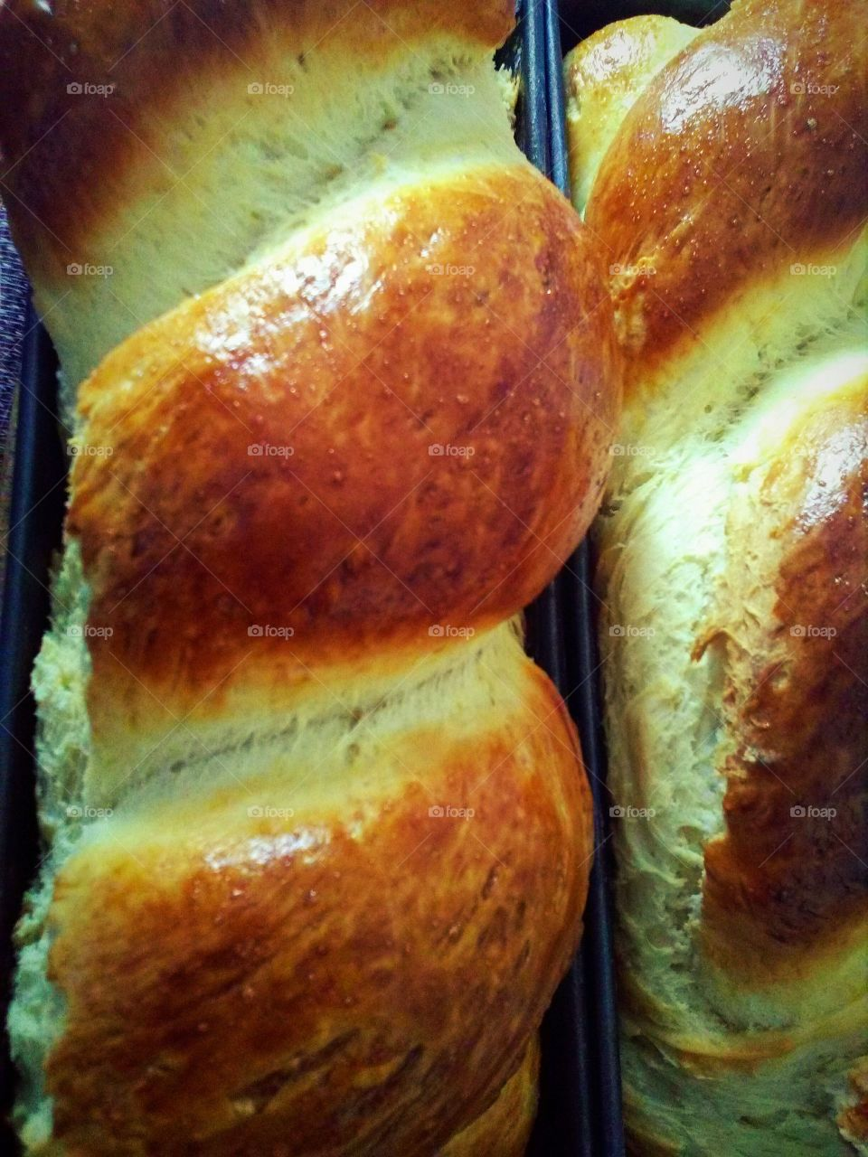 Bread made at home