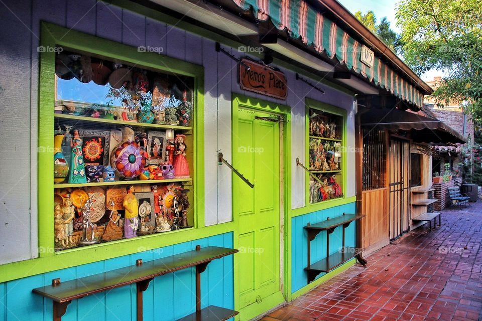 Little Shop on Olvera Street downtown Los Angeles